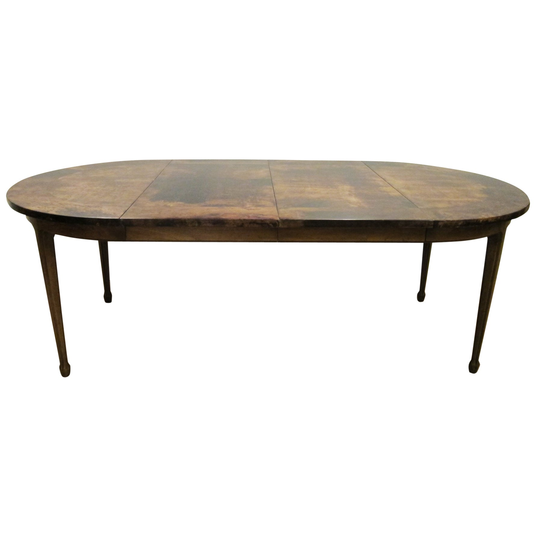 Parchment Top Dining Table by Aldo Tura, Italy, 1970
