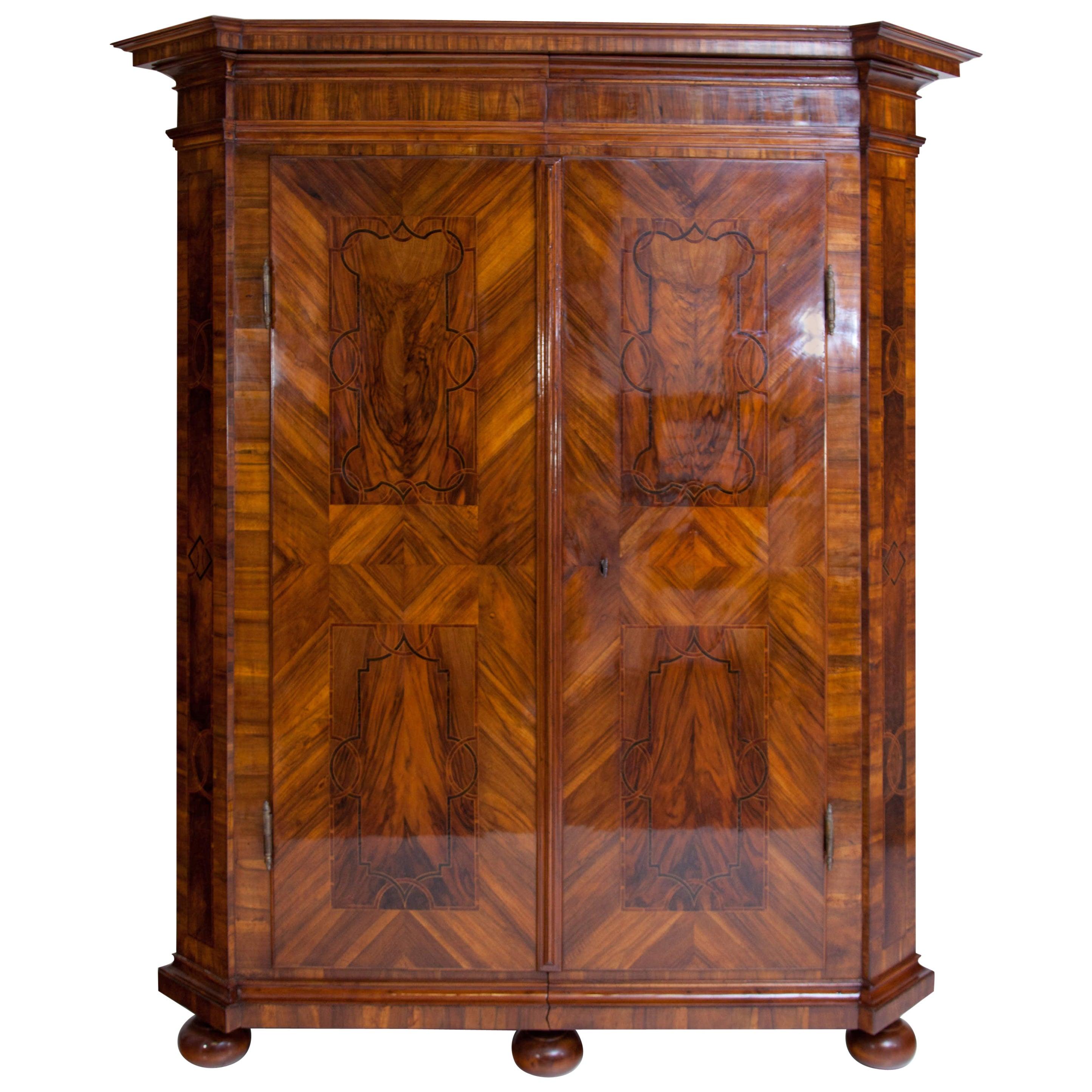 Baroque Cabinet, German 18th Century