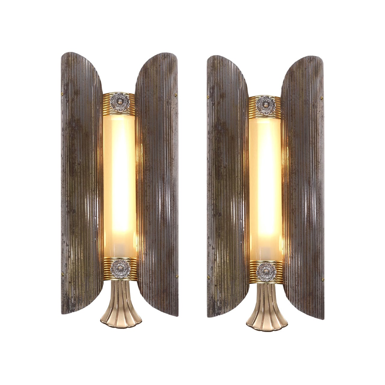 Pair of Art Deco Theater Sconces