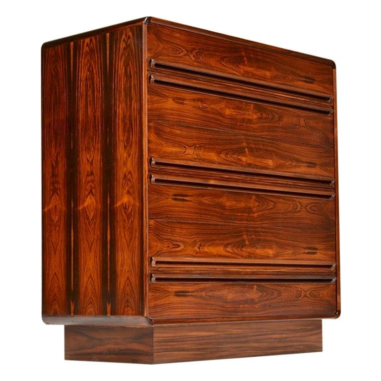 Mid-Century Modern Westnofa 6-Drawer Rosewood Dresser