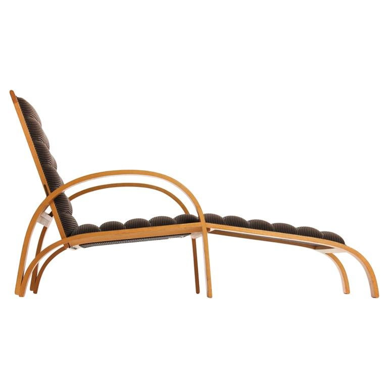 Chaise Longue by Ward Bennett For Sale
