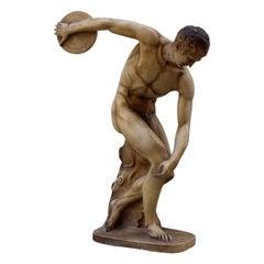 Discobolus Sculpture, circa 1950s