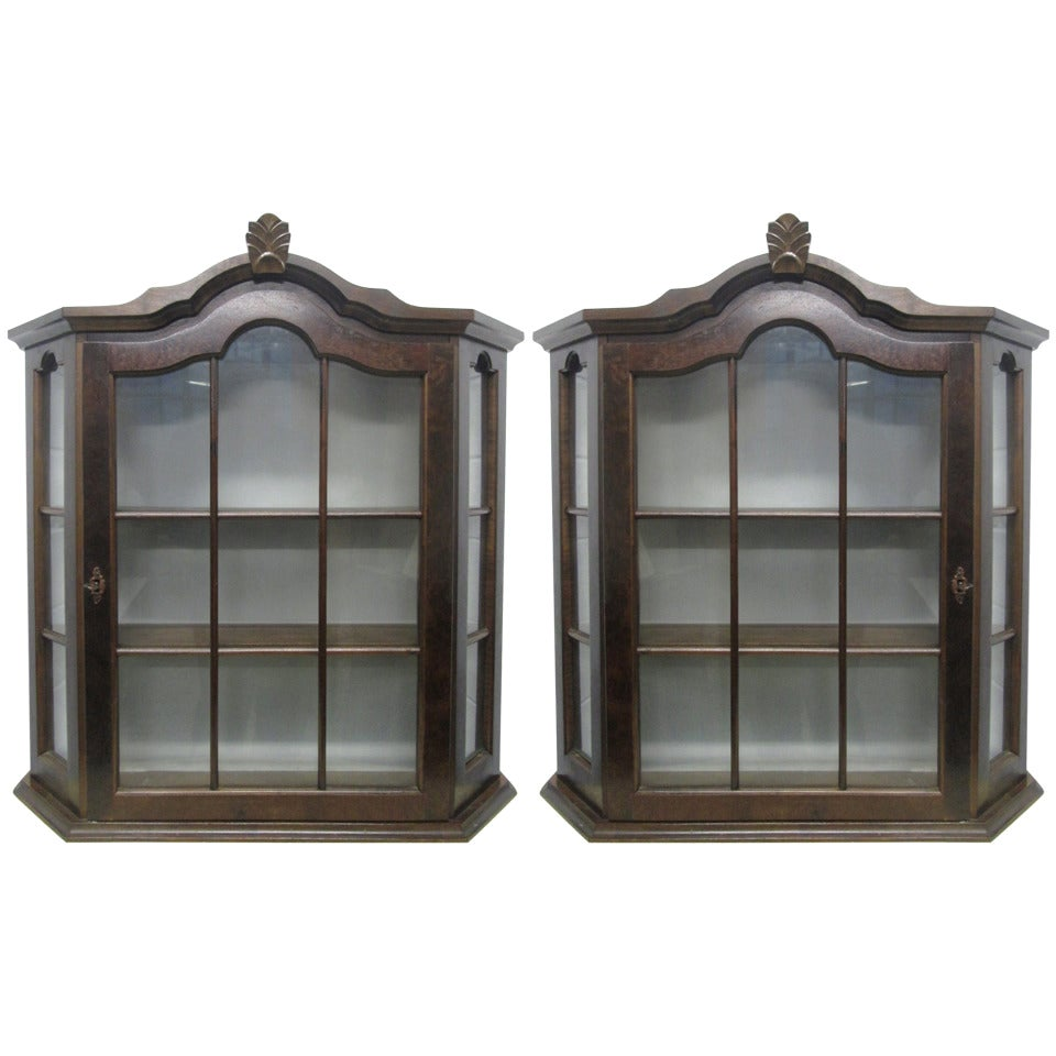 Pair of Hanging Cabinets