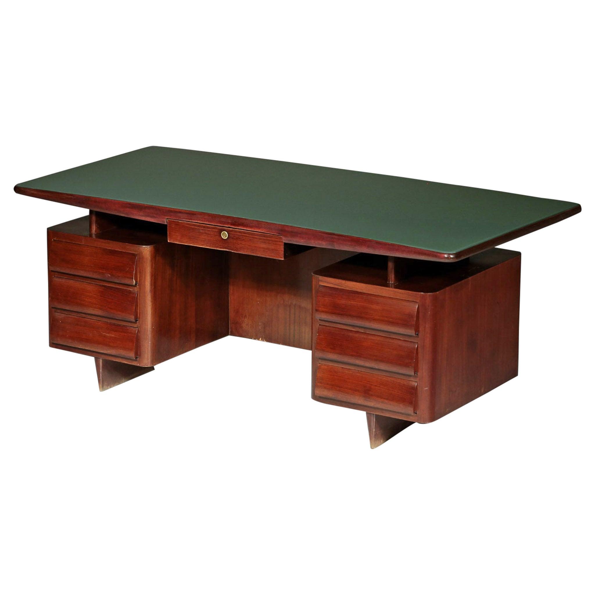 Italian Desk by Vittorio Dassi, 1950s Vintage