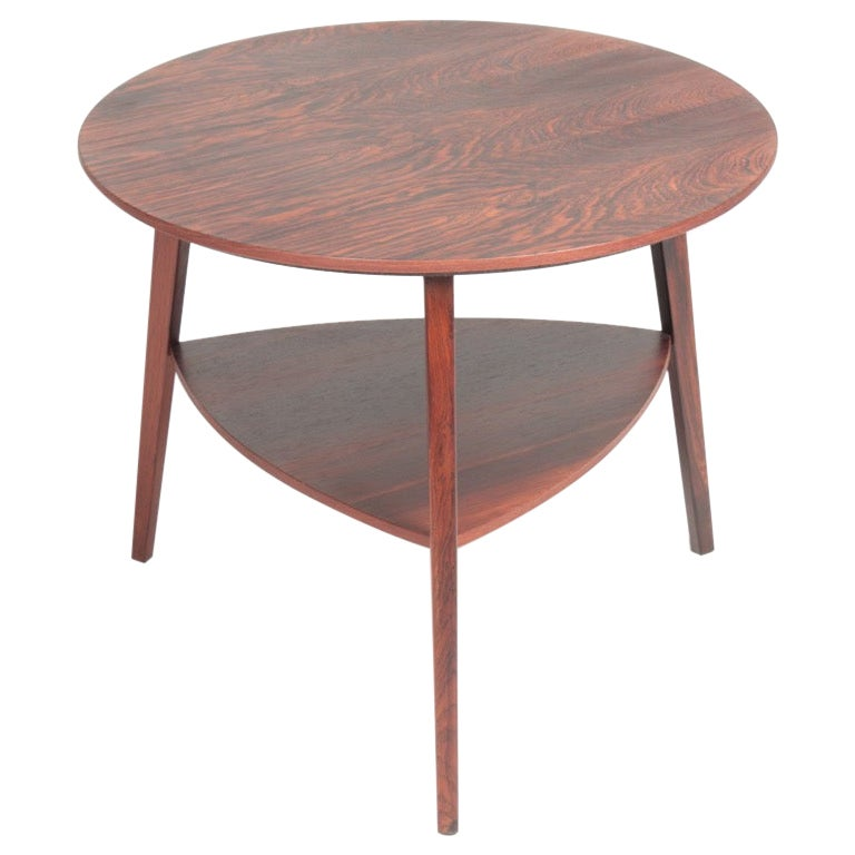 Midcentury Side Table in Rosewood, Made in Denmark, 1960s