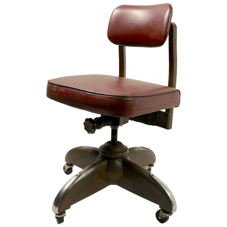Industrial Swivel Desk Office Task Chair by Harter