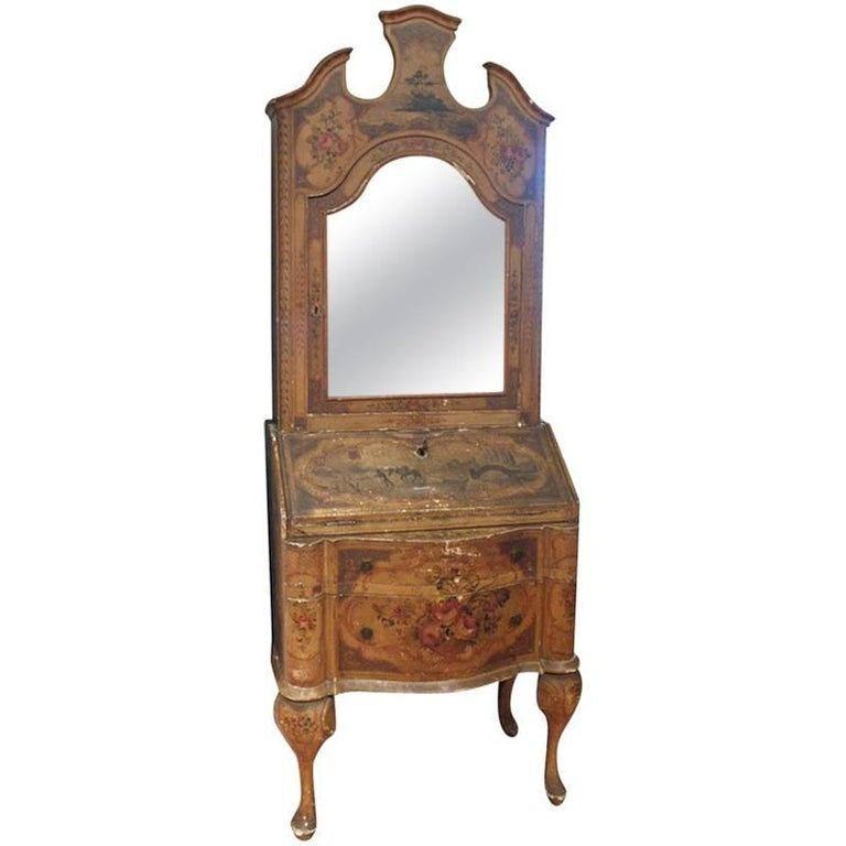 Venetian Secretary Bookcase