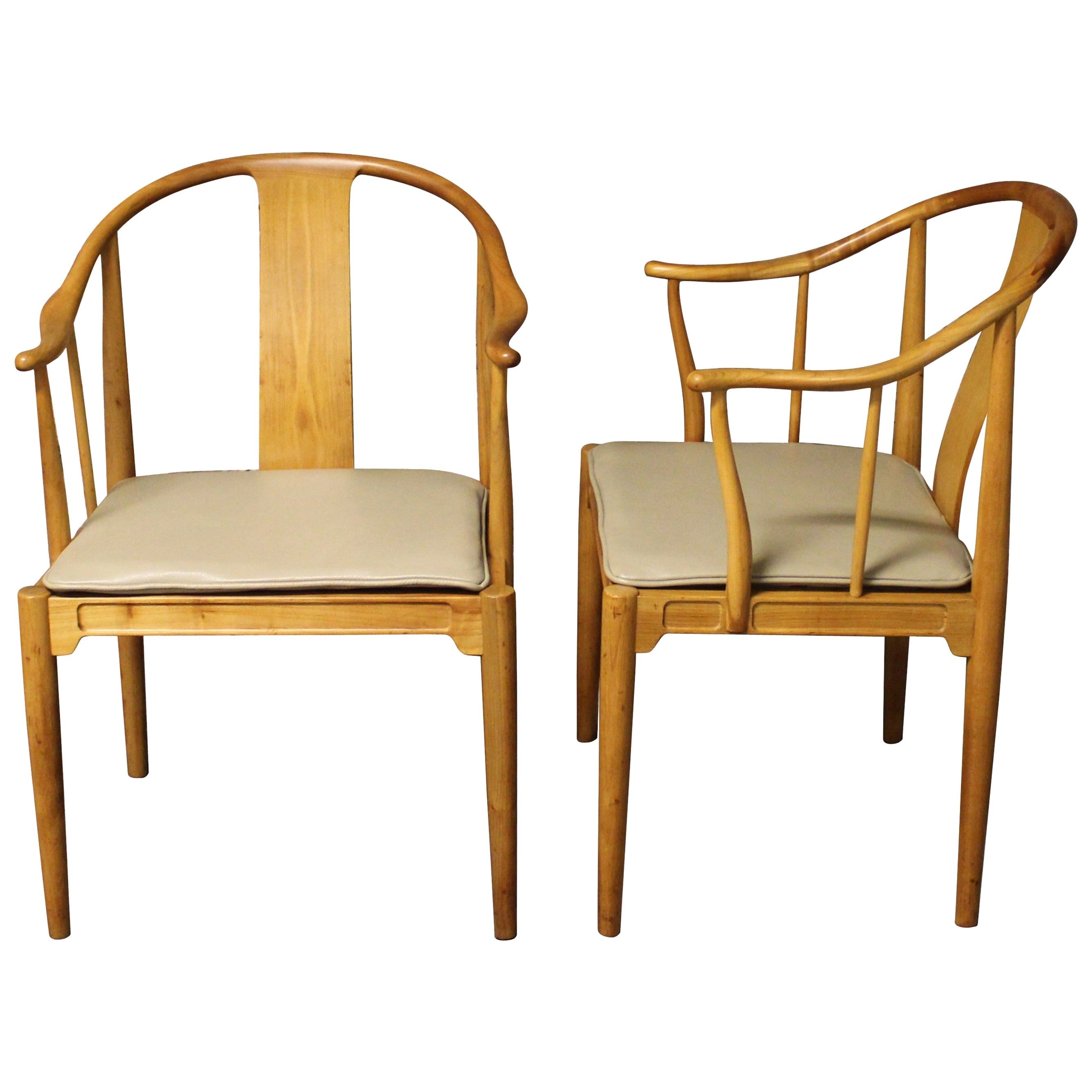 Pair of Hans Wegner Chinese Chairs for Fritz Hansen