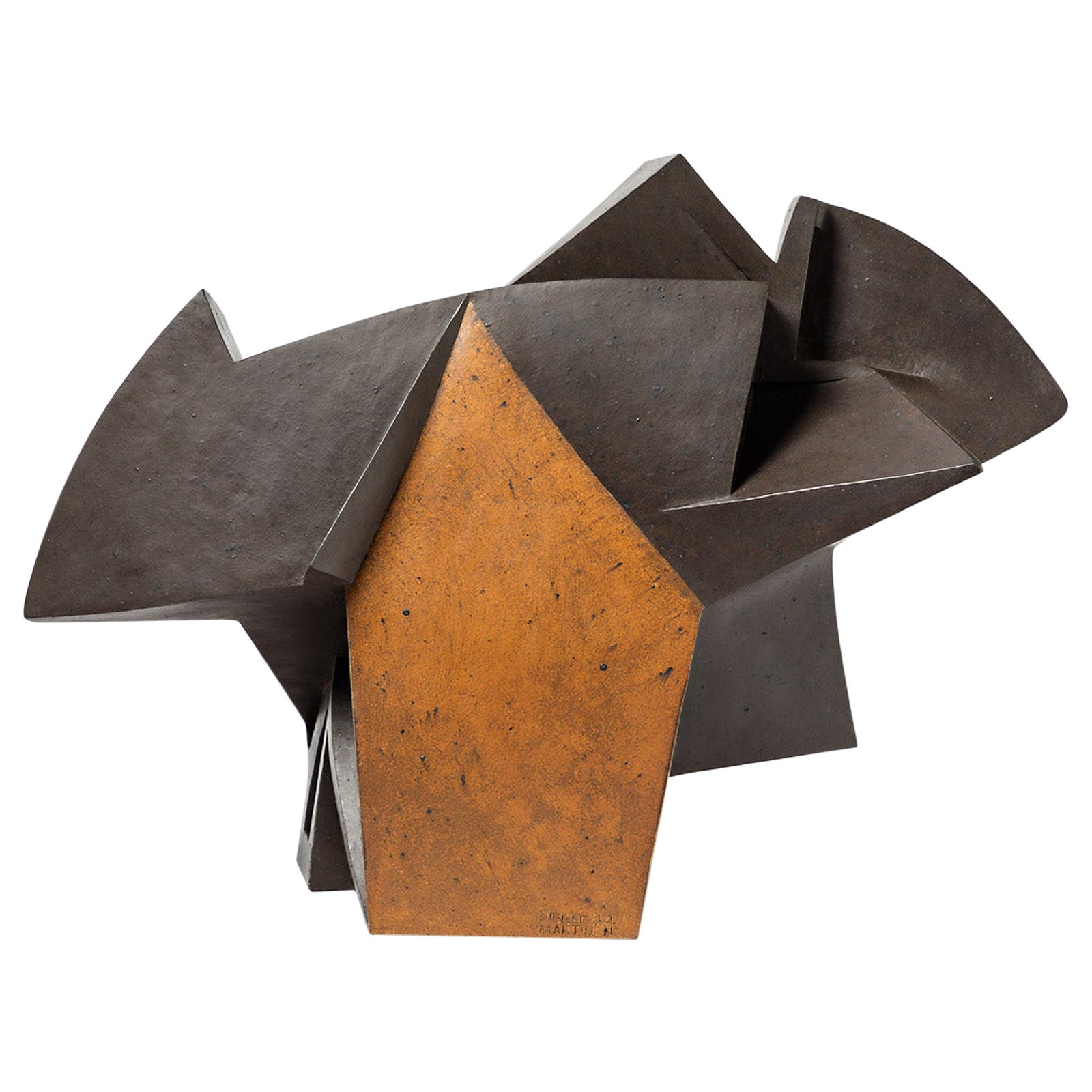 "Sculpture Entitled ""Bascule"" by Pierre Martinon, circa 1994"