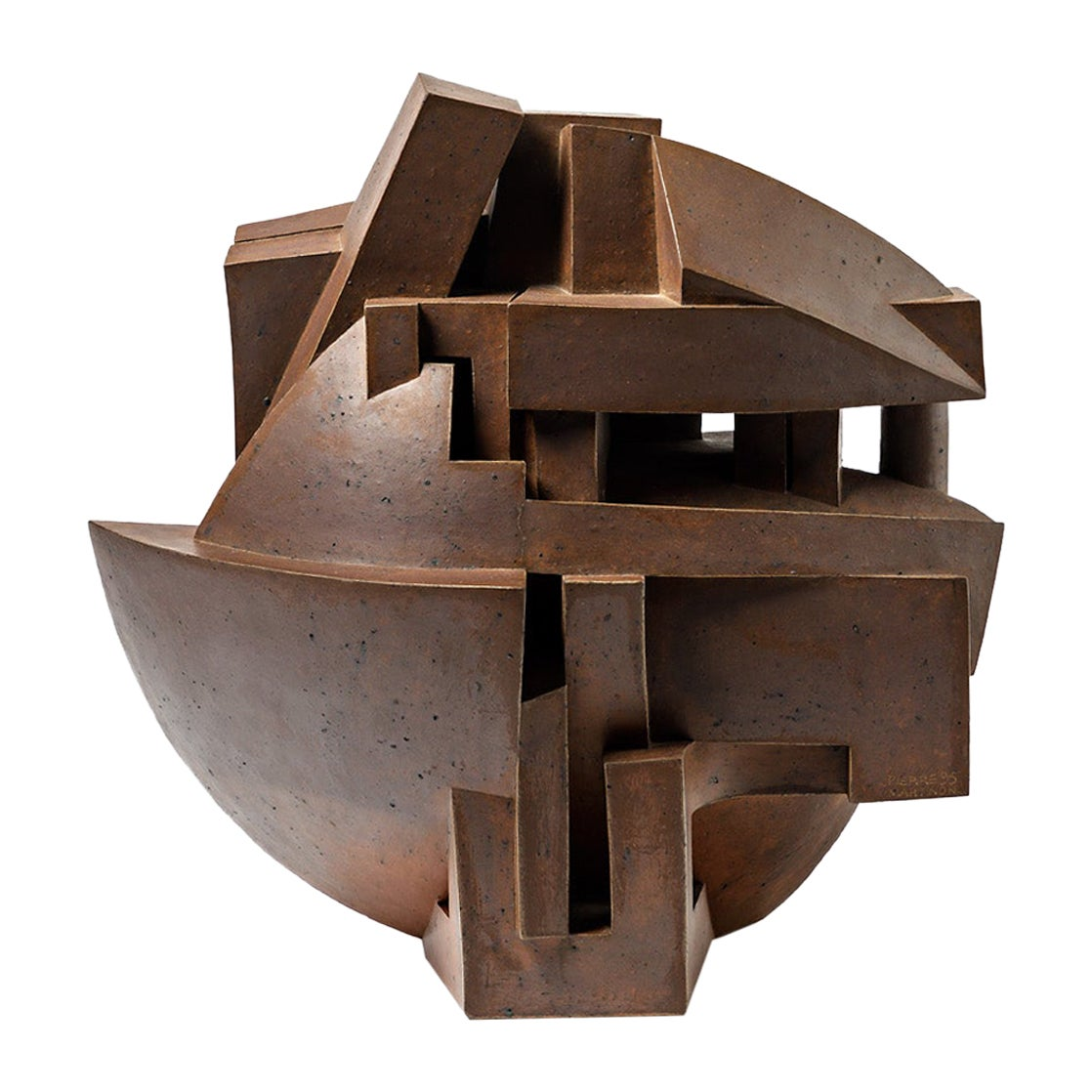 """Sculpture Entitled """" Odyssee"""" by Pierre Martinon, circa 1995"""