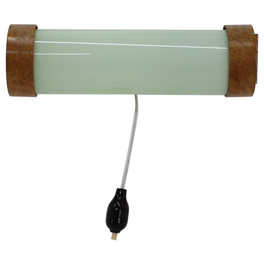 Art Deco Rare Wall Lamp, 1930s