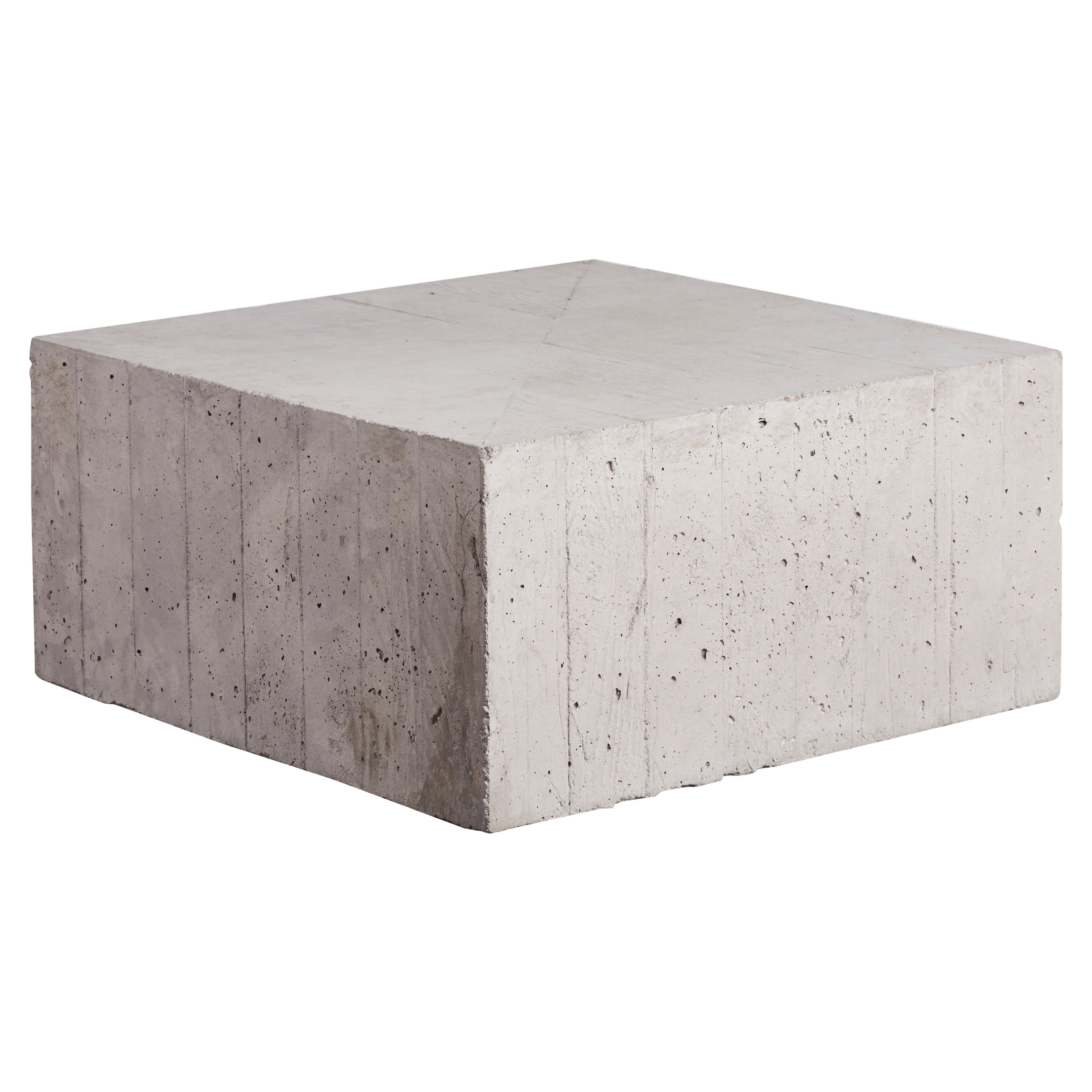 'Hashima' Reinforced Concrete Table, One of a Kind Artwork by Littlewhitehead