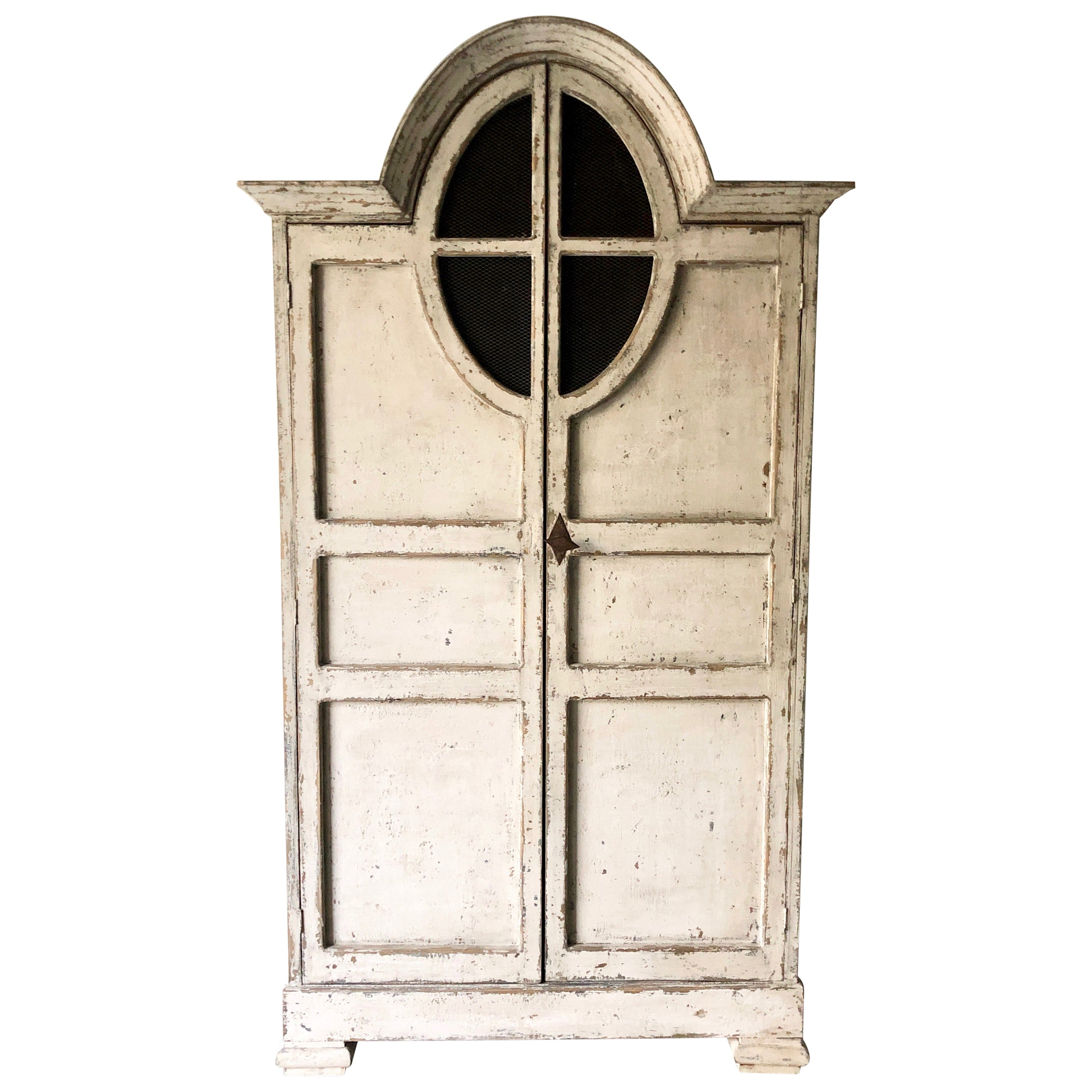 19th Century French Unusual Armoire / Cabinet