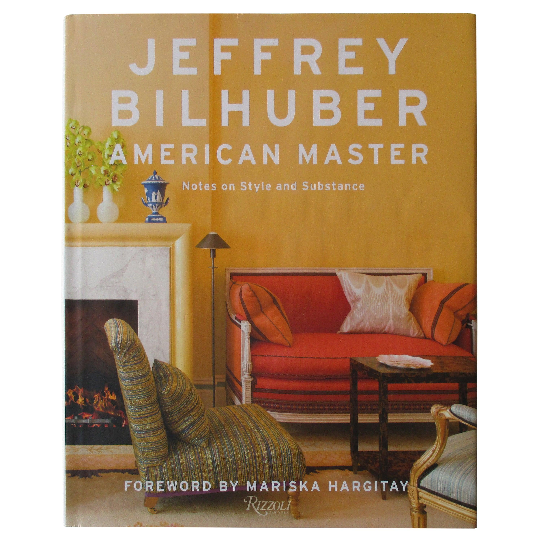 Jeffrey Bilhuber American Master Hardcover Book