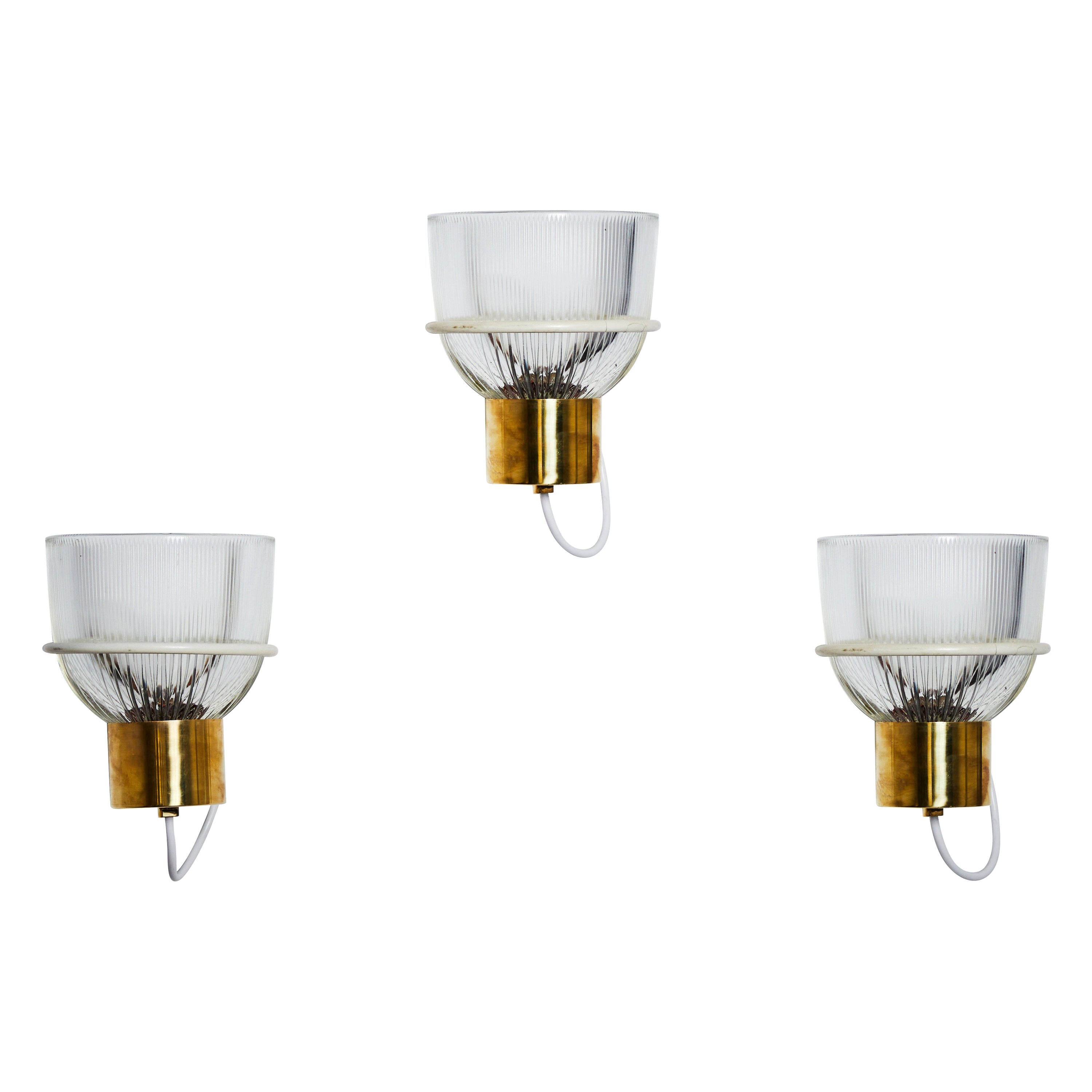 One Sconce by Sergio Asti for Candle