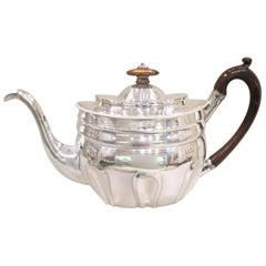 Georgian Sterling Silver Tea Pot