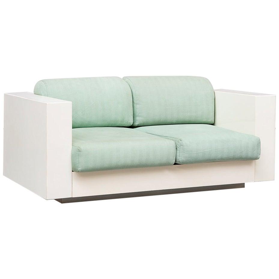 Italian Two-Seat Saratoga Sofa, by Vignelli Associates for Poltronova, 1964