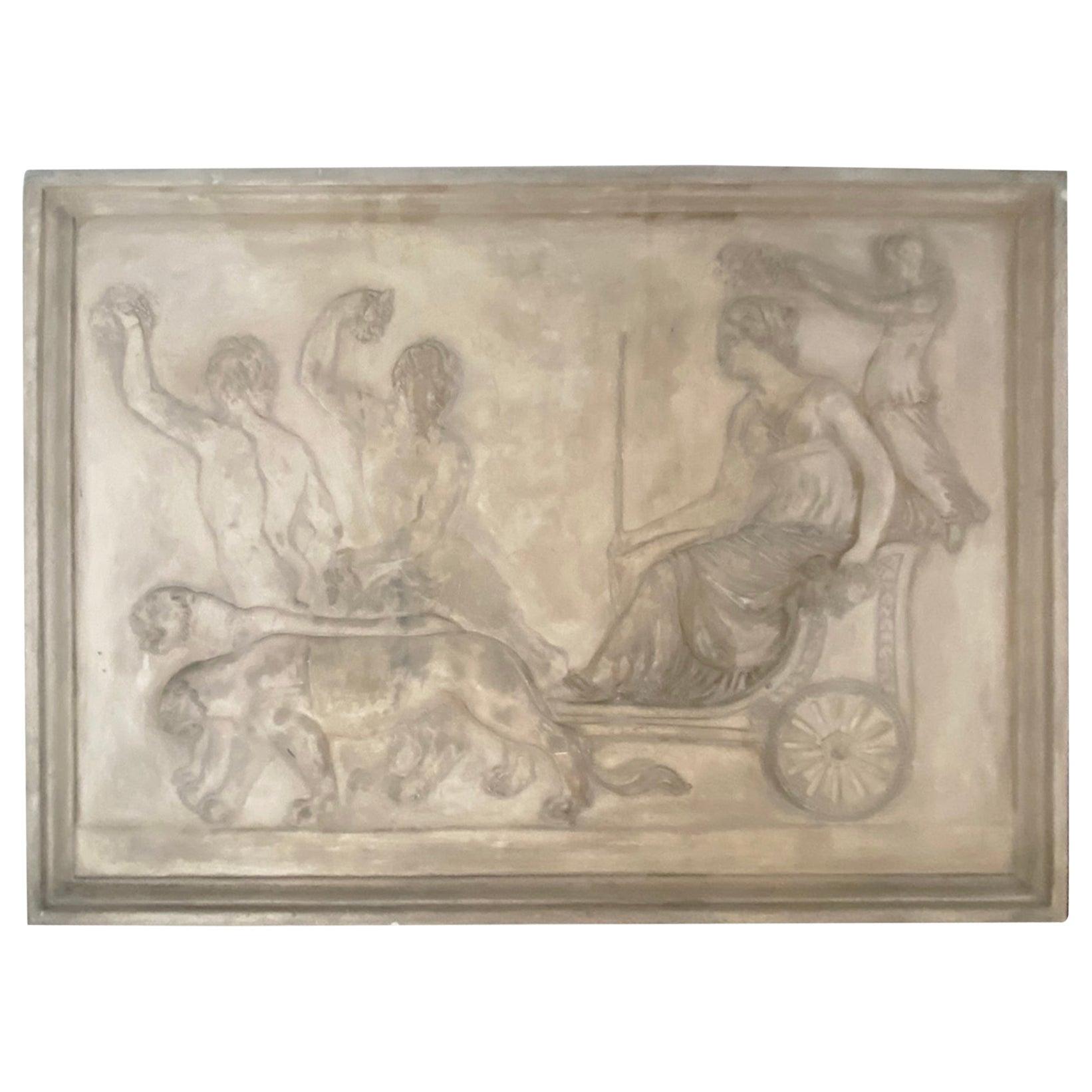 Architectural Terra-cotta Bas Relief Sculpture Plaques Italian Terracotta