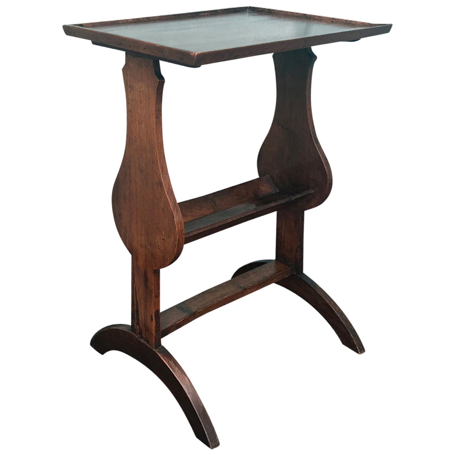 18th-19th Century French Fruitwood Side Table