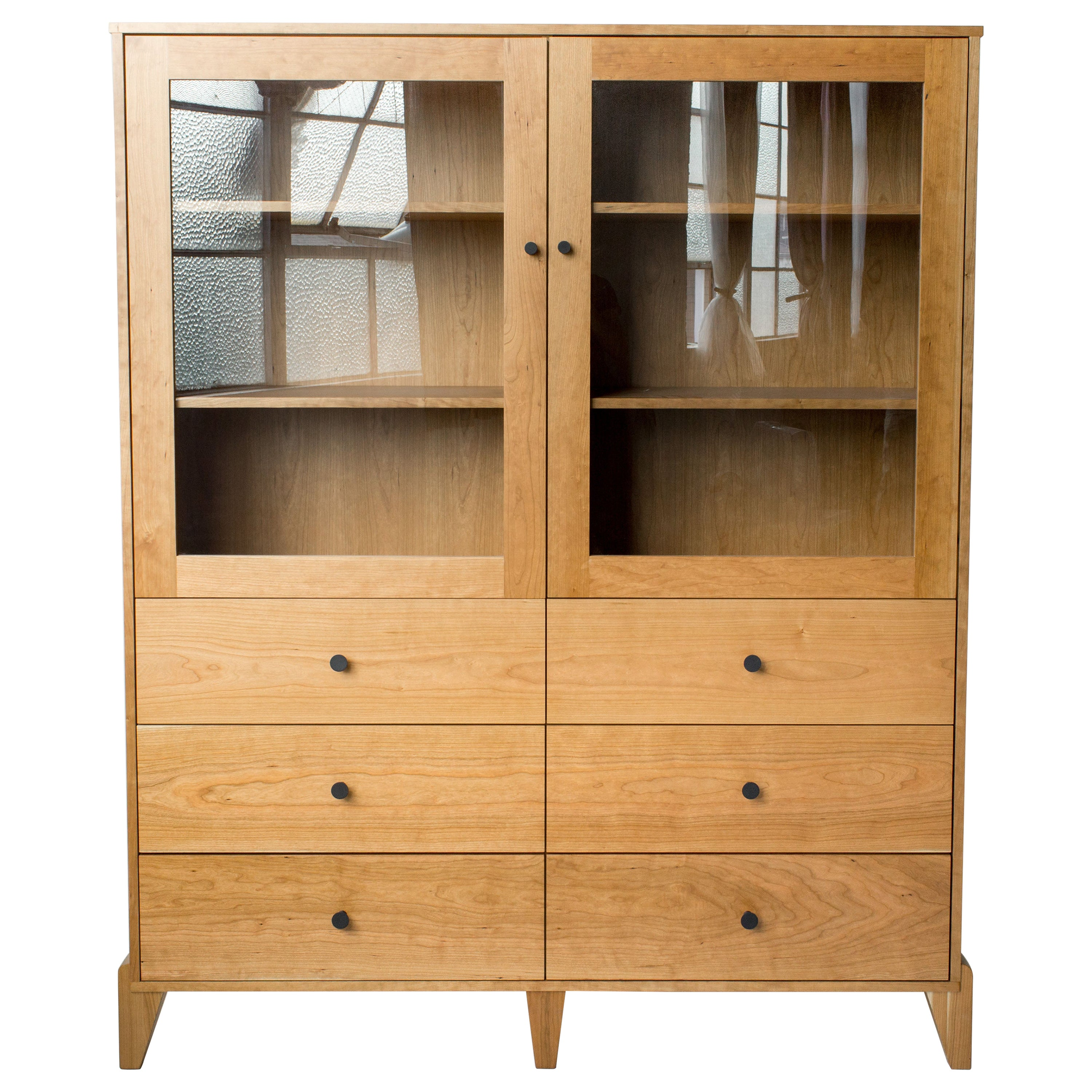 Pacific Curio Cabinet in Cherry by Studio Moe