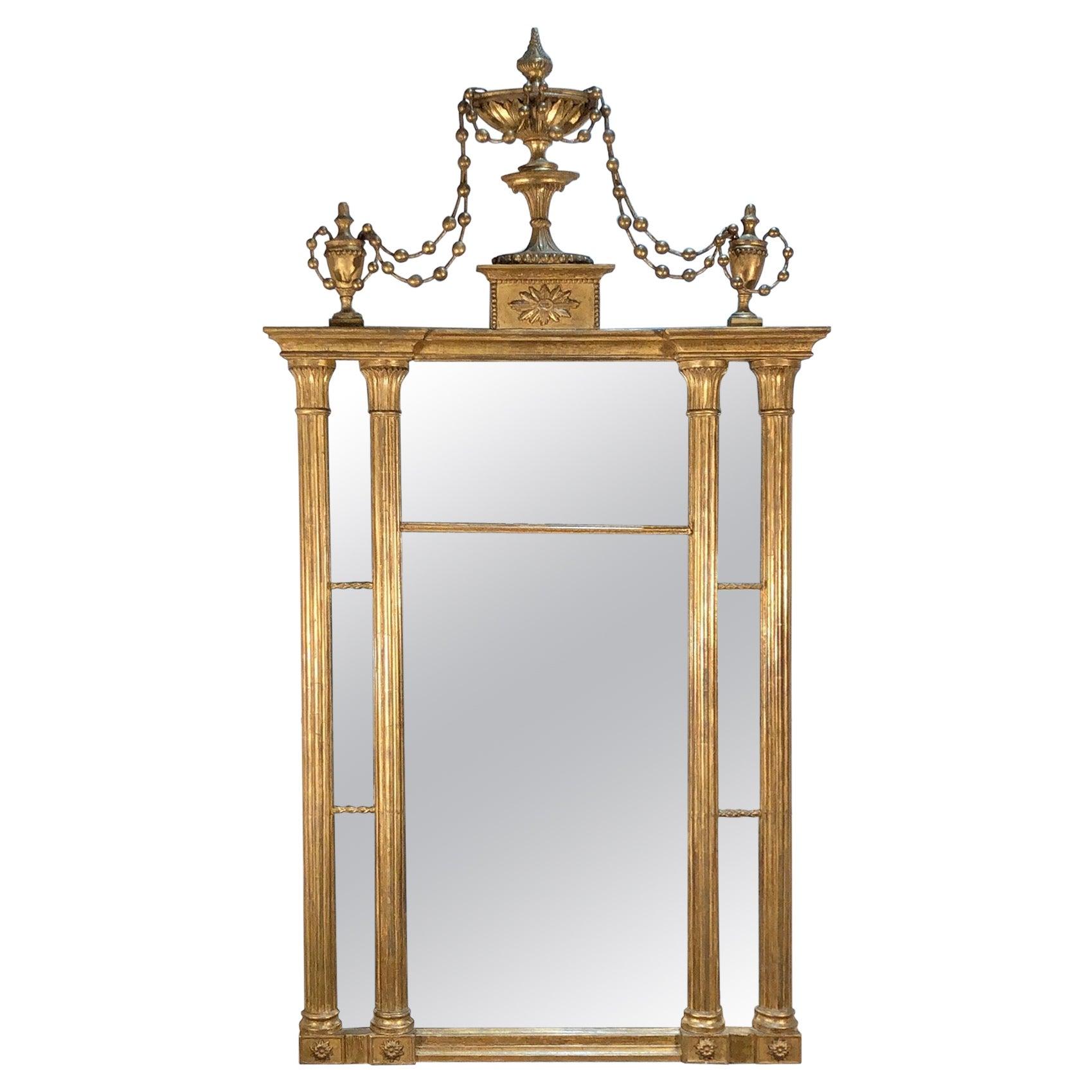 Federal New York Pier Mirror, Late 18th Century