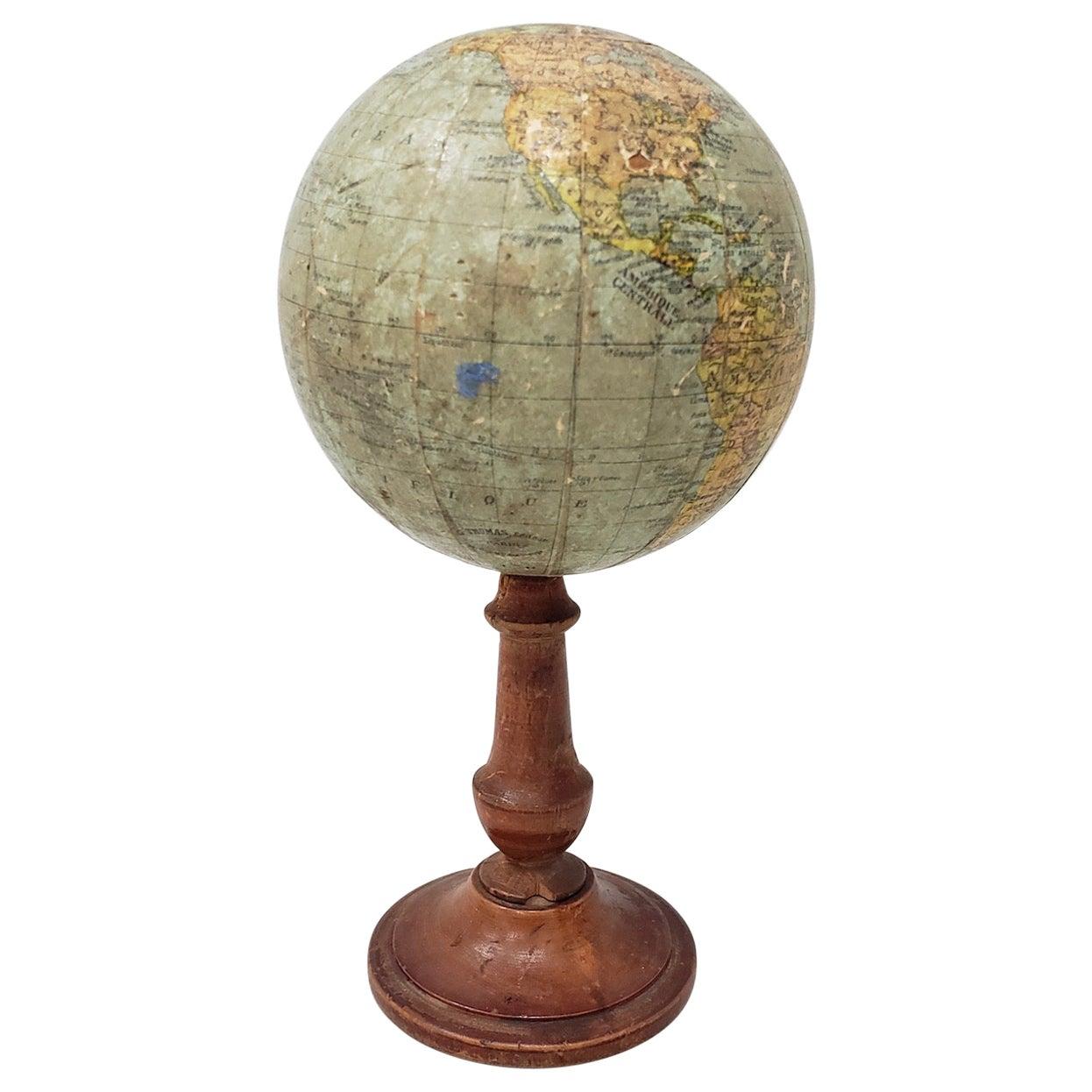 19th Century Terrestrial Globe by G. Thomas, Editeur & Globe Maker, Paris, 1890s