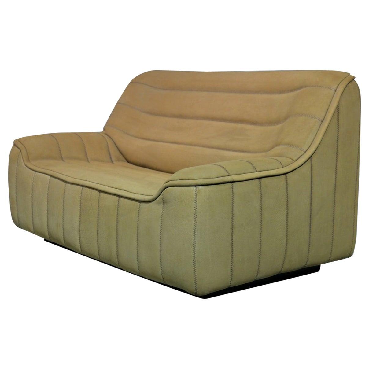 Vintage De Sede DS 84 Leather Sofa, Switzerland 1970s