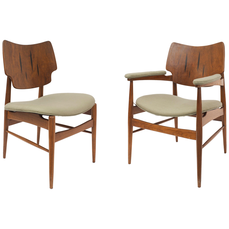 Midcentury Scandinavian Teak Dining Chairs