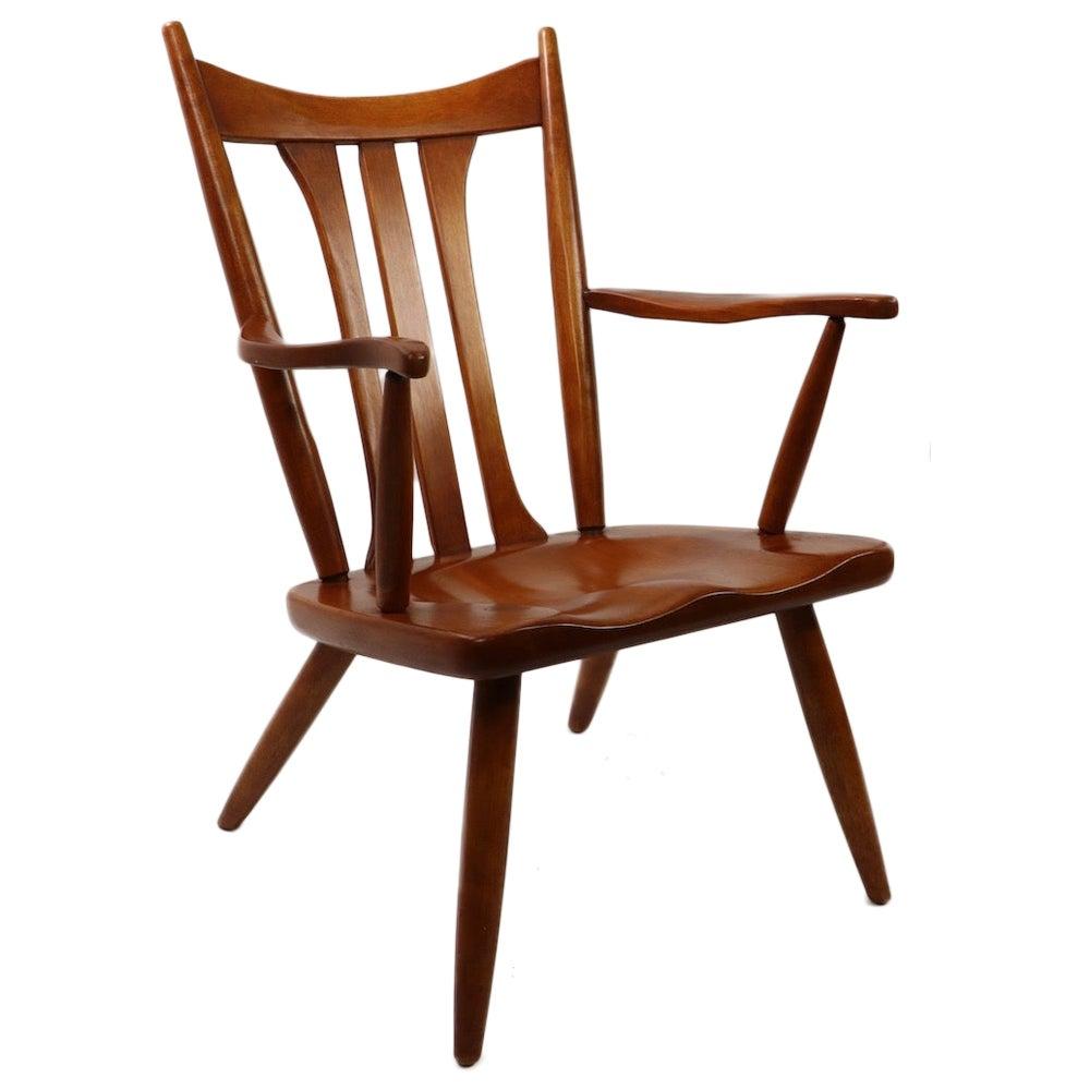 Organic Modern Lounge Chair by Cushman