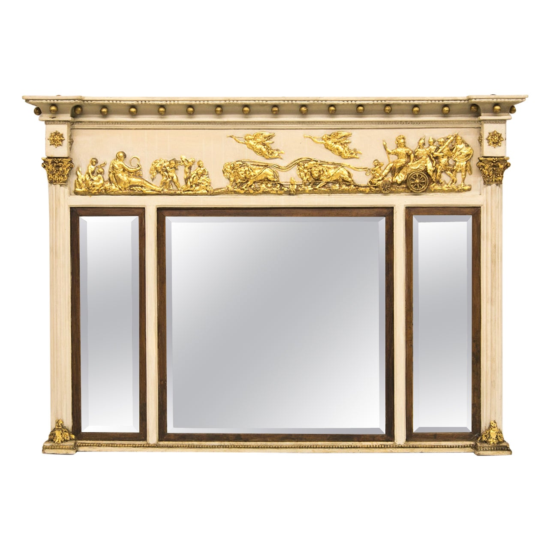 Regency Three Panel Mirror