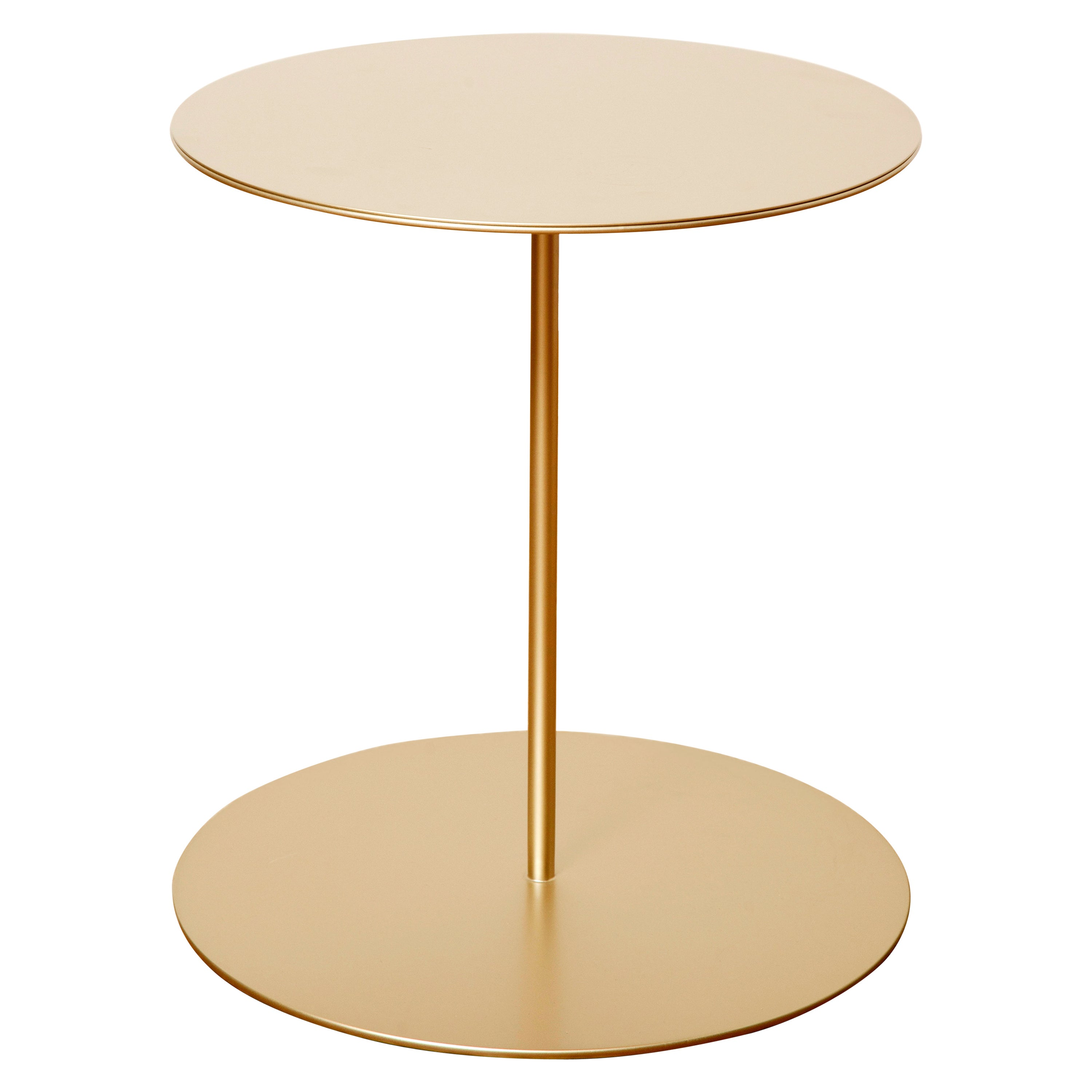 Tray II Metal Structure Luxury Side Table, Made in Italy