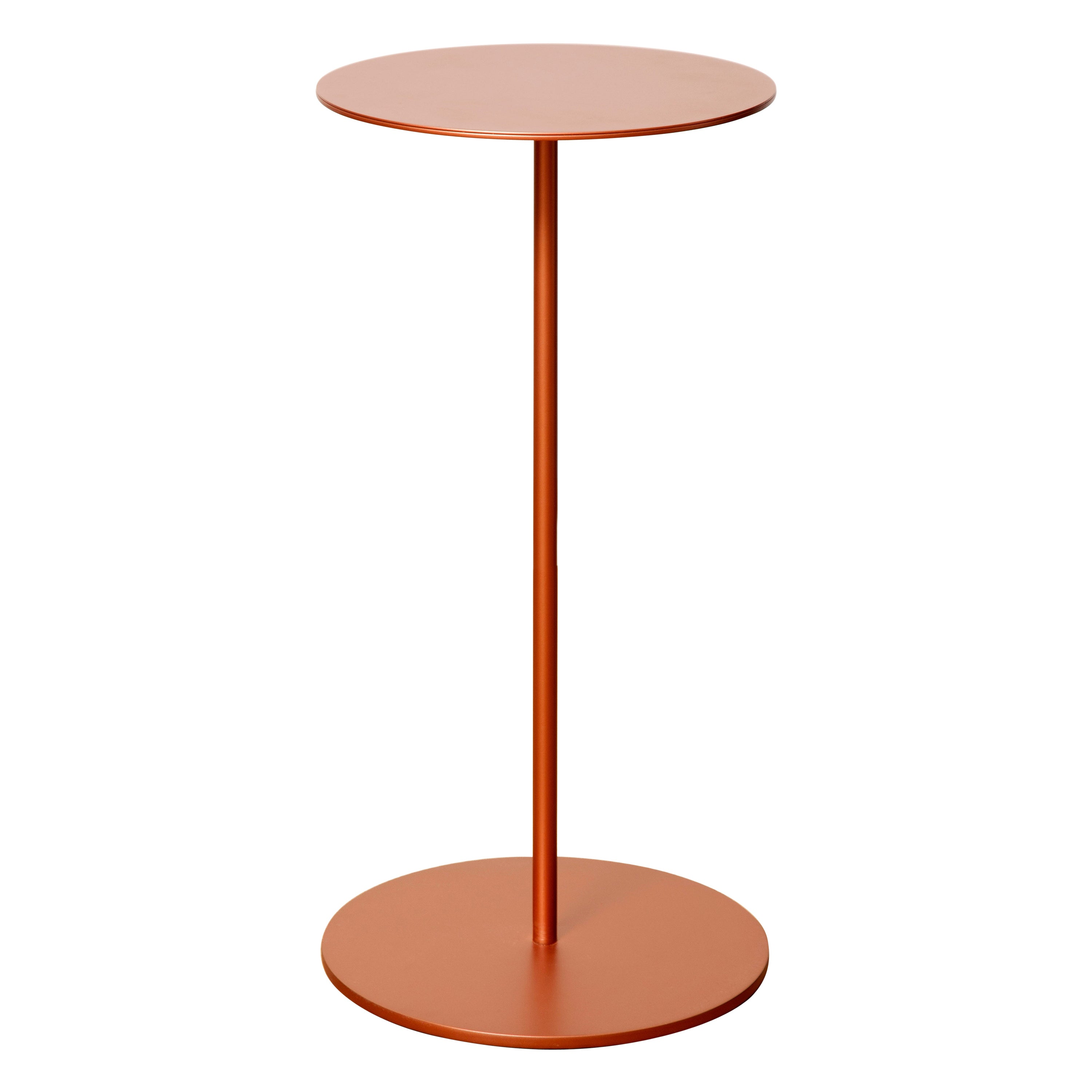 Tray III Metal Structure Luxury Side Table, Made in Italy