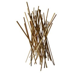 American Modern Abstract Expressionist Wood Sculpture, Moshe Y
