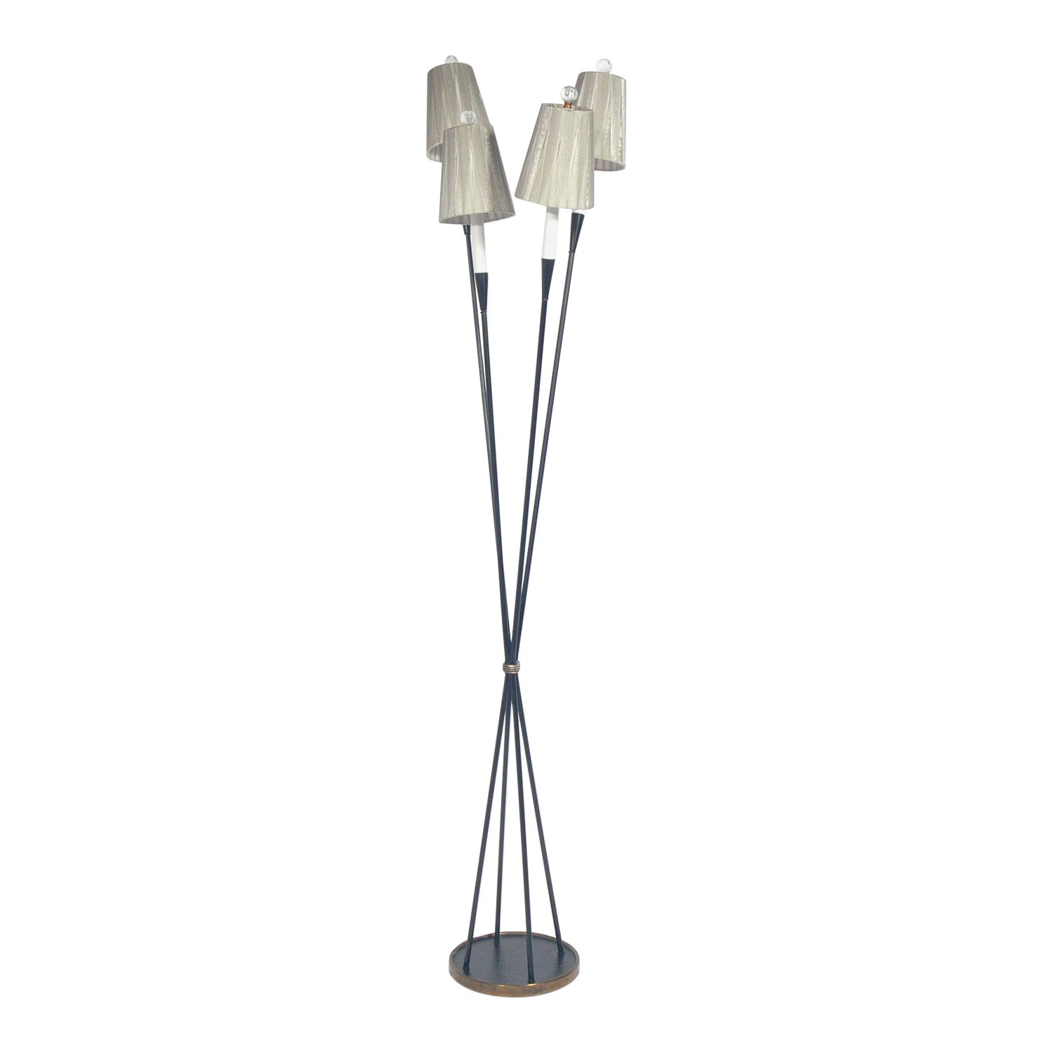 Sculptural Midcentury French Floor Lamp by Maison Lunel