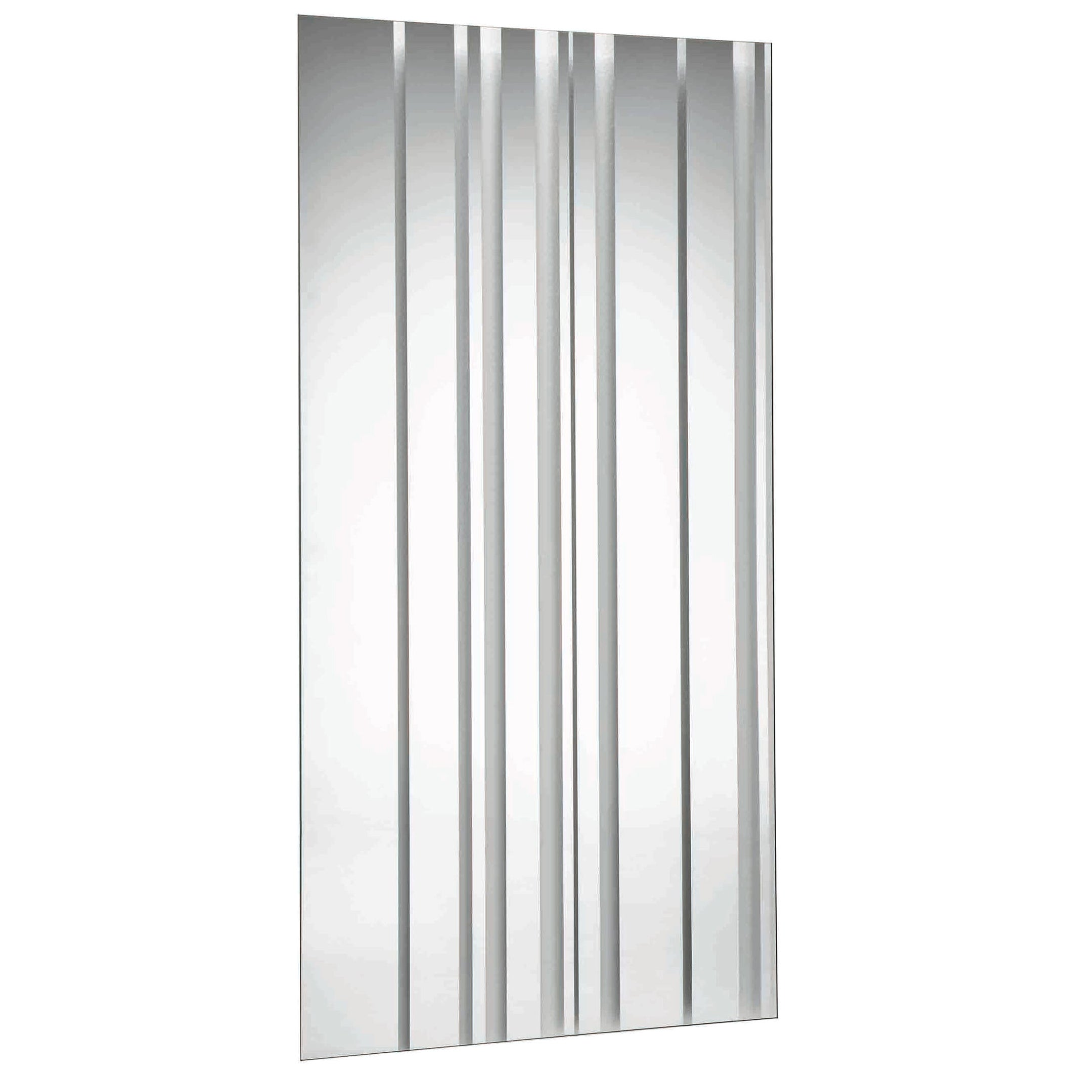 Barcode Wall Mirror, Designed by Giuseppe Maurizio Scutellà, Made in Italy