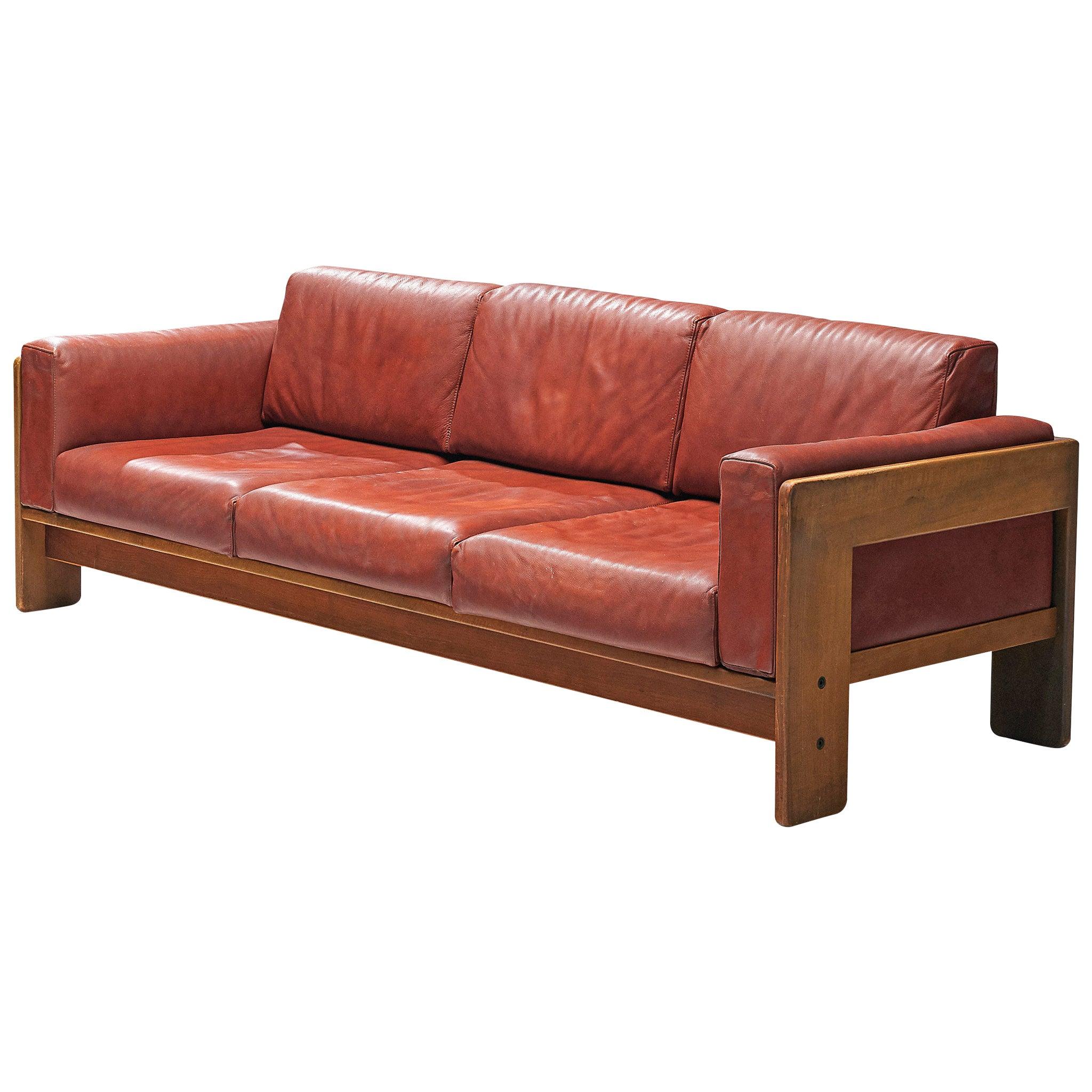 Tobia Scarpa Bastiano Sofa in Leather