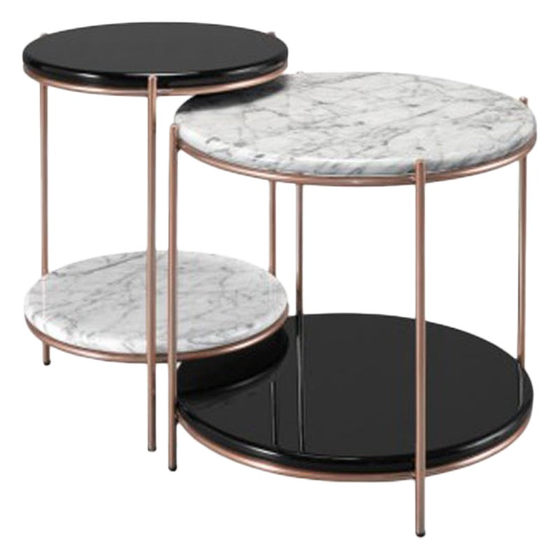 Set of Side Table, Round Side Table