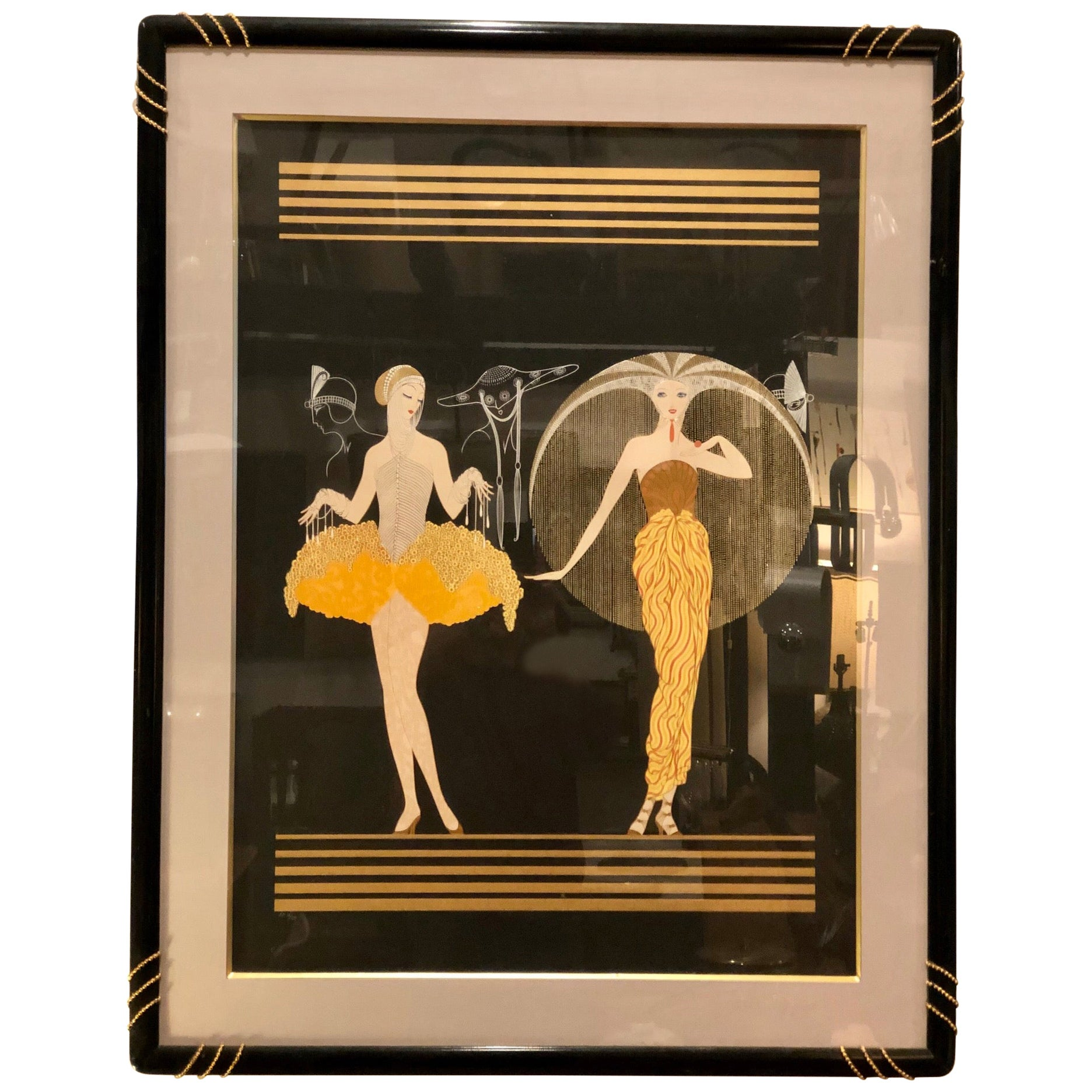 Signed and Numbered Original Erte Serigraph