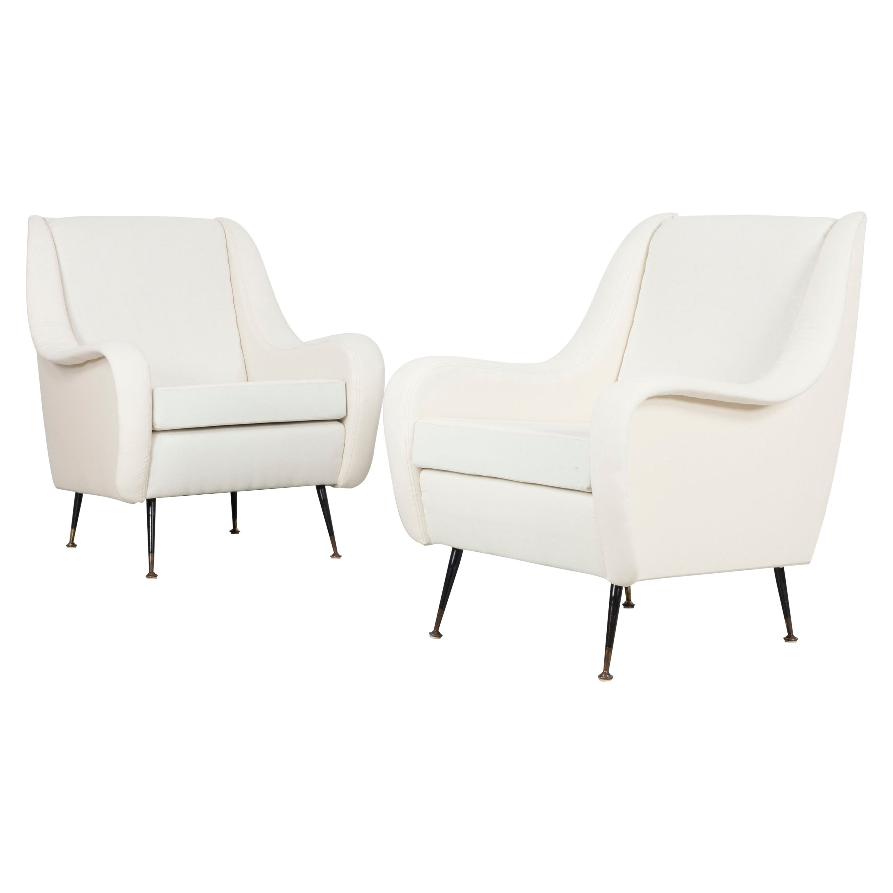 Set of Two Armchairs of Italy in 1950s