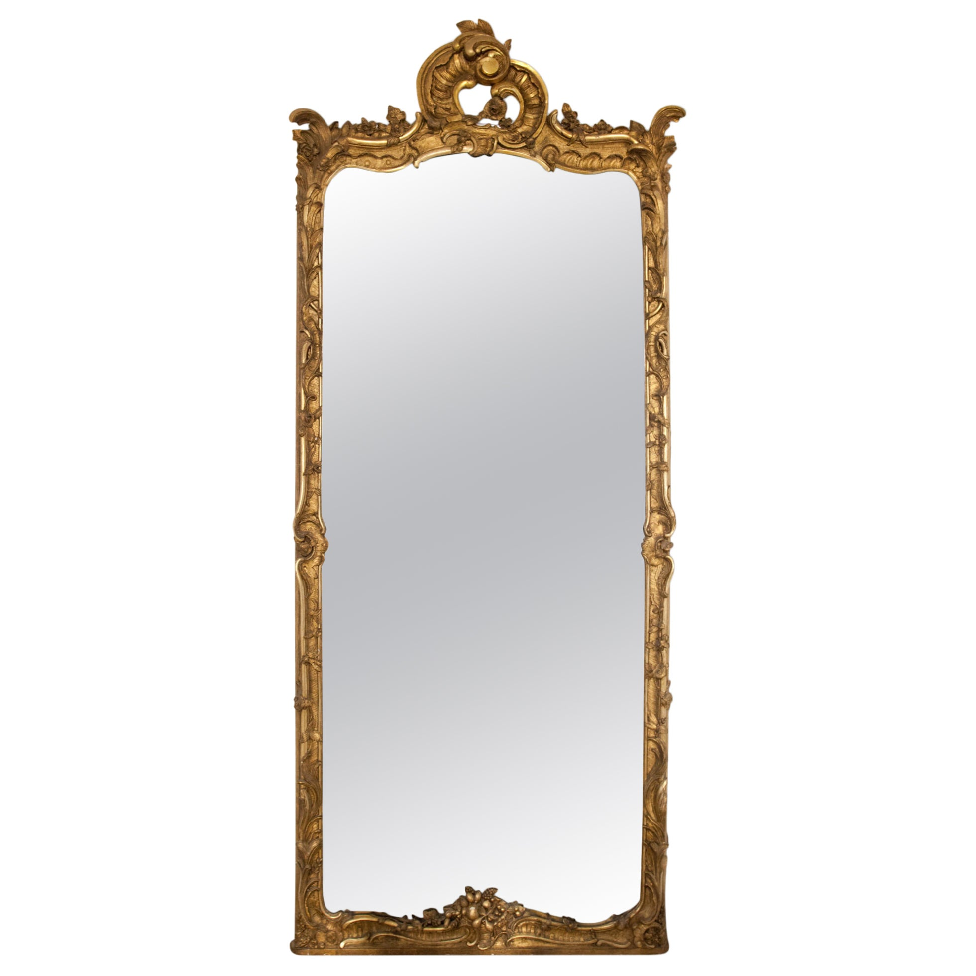 Rococo Mirror, 18th Century