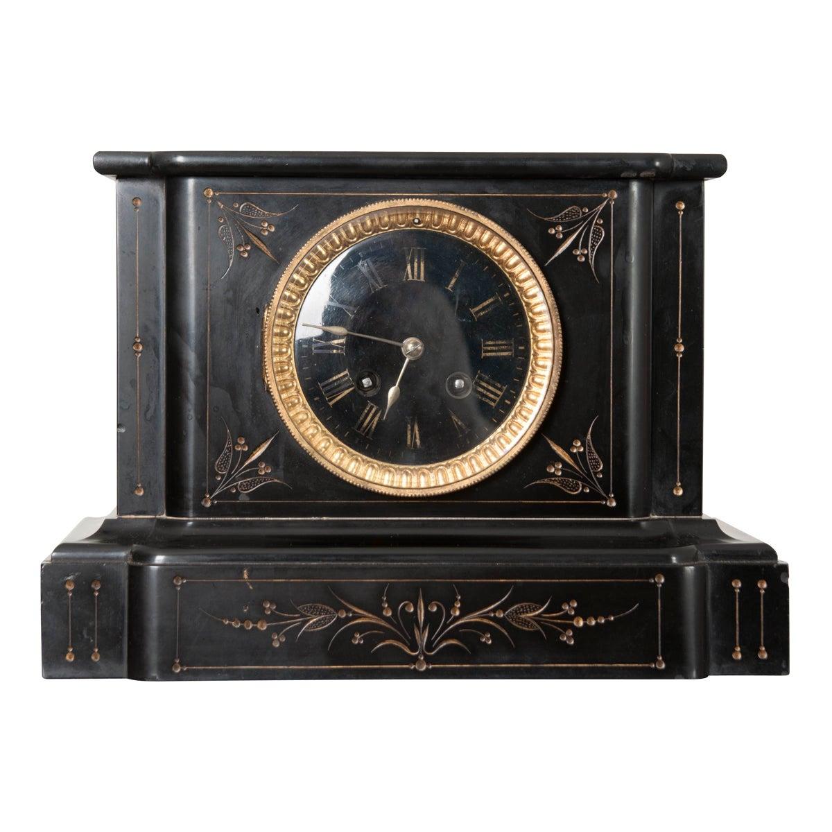 French 19th Century Paris Movement Mantel Clock