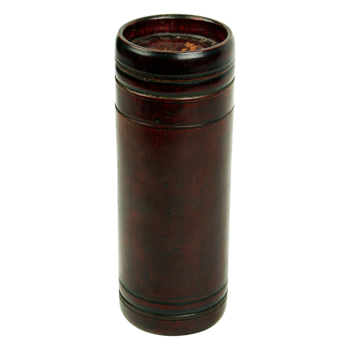 Bamboo Cylinder Container from Japan, Late 19th Century