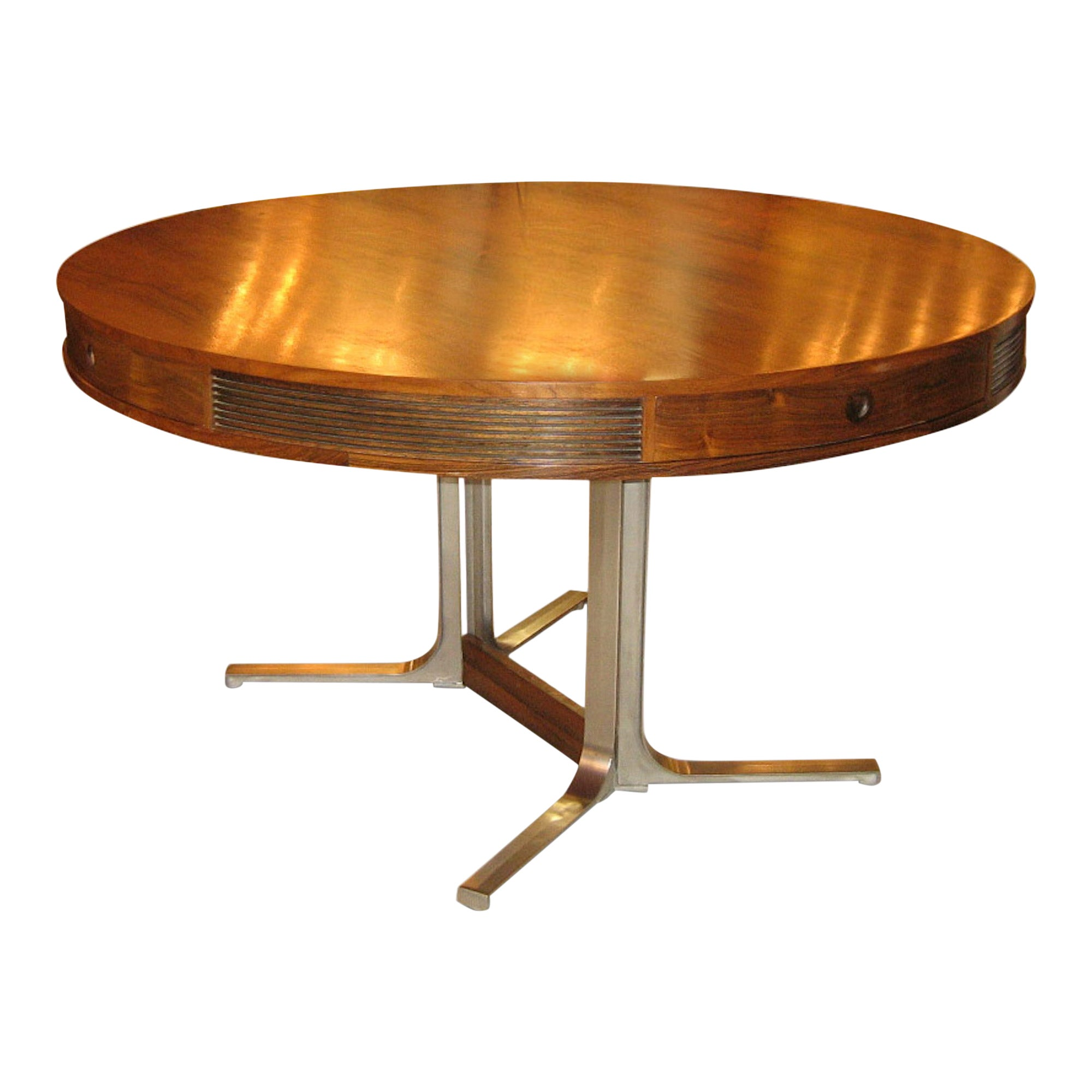 Midcentury 1960s Rosewood Dining Table by Robert Heritage