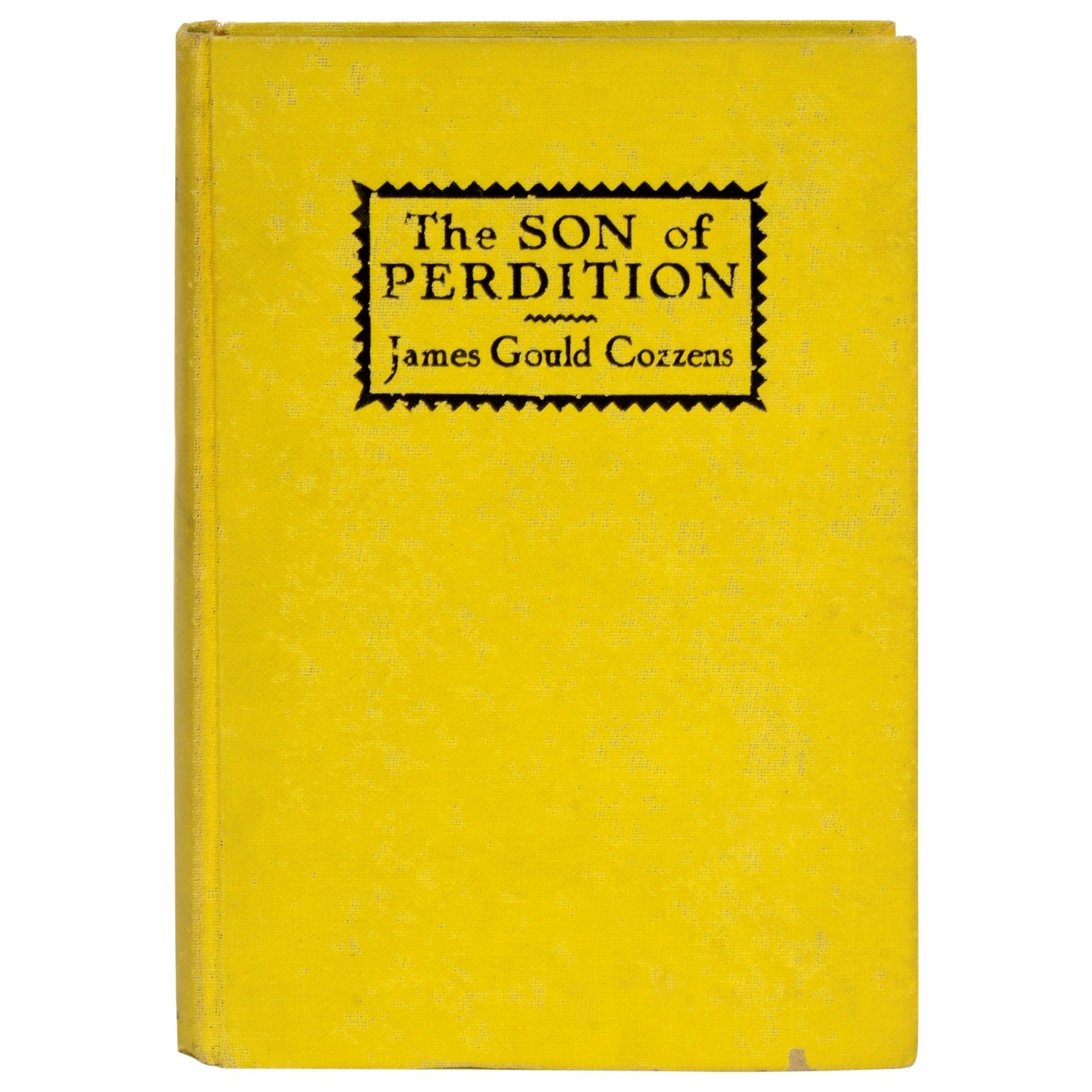 Son of Perdition by James Cozzens, Rare 1st Ed Pre-Publication Review Copy