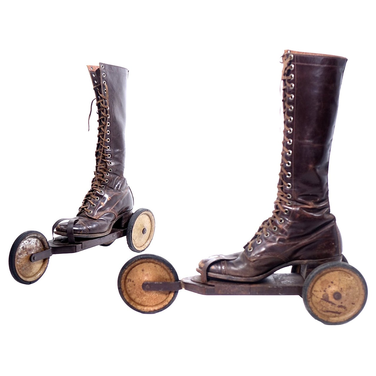 Roller Skates, circa 1910s