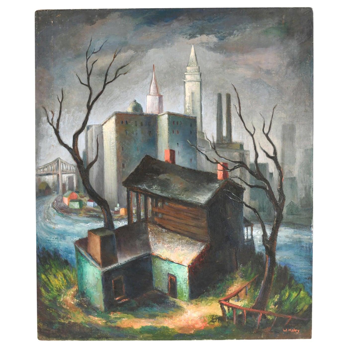 1940s Landscape Painting