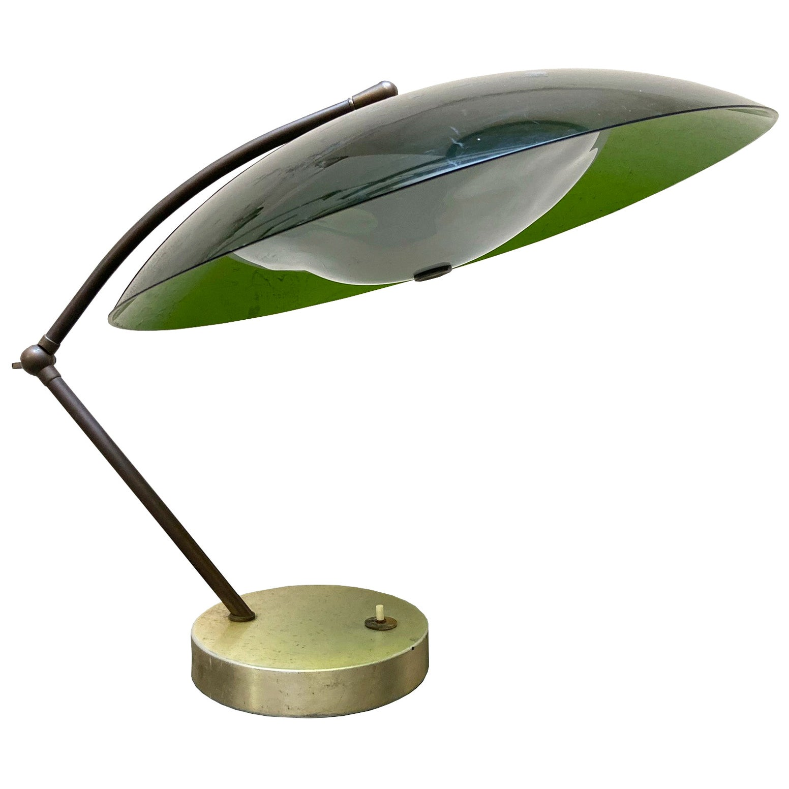 Stilux Milano Articulating Table Lamp, 1950s