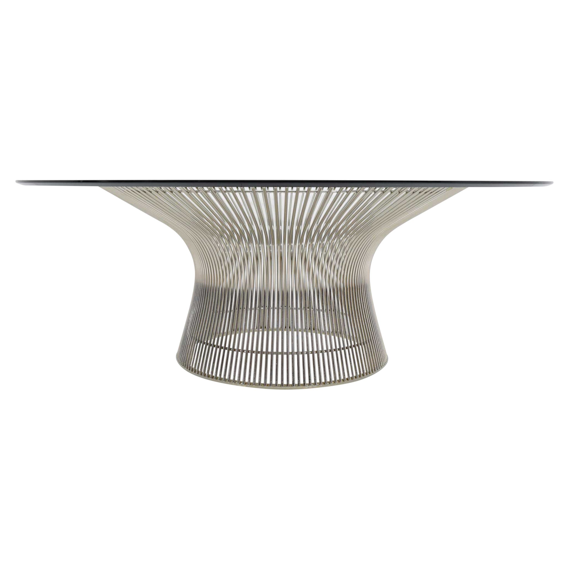 Warren Platner for Knoll Nickel Plated Cocktail Coffee Table