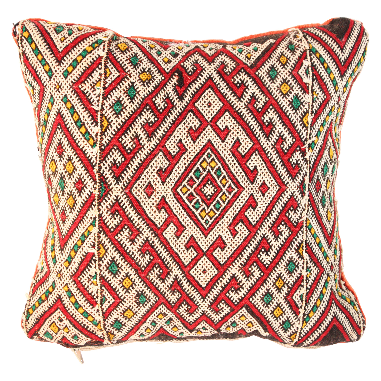 Handwoven Moroccan Tribal Berber Pillow