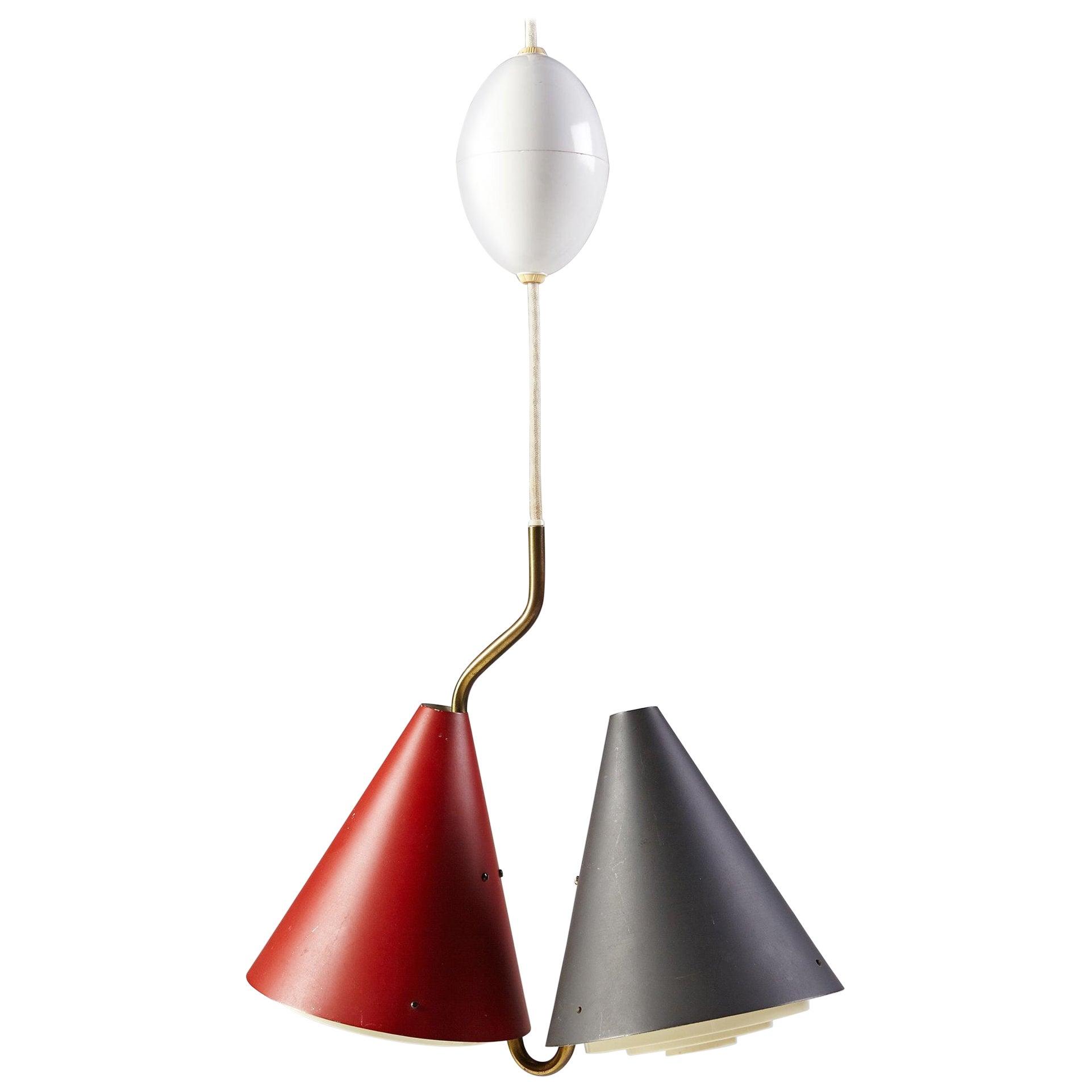 Ceiling Lamp, Anonymous, Denmark, 1950s